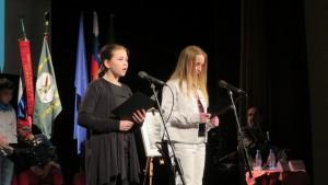 Katja in Špela